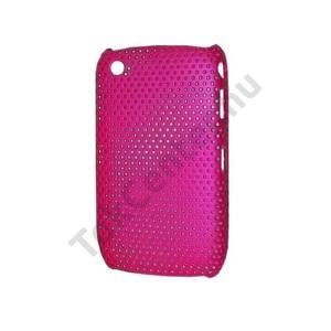 BlackBerry 8520 Curve Műanyag telefonvédő lyukacsos RÓZSASZÍN