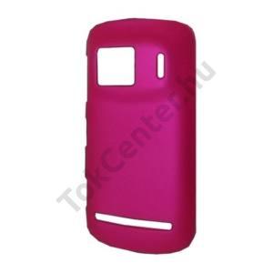 Nokia 808 PureView Műanyag telefonvédő MAGENTA