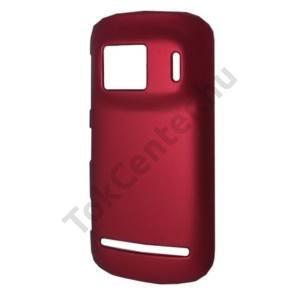 Nokia 808 PureView Műanyag telefonvédő PIROS