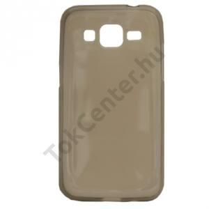 Samsung Galaxy Core Prime (SM-G360) Telefonvédő gumi / szilikon (ultravékony) FÜSTSZÍNŰ
