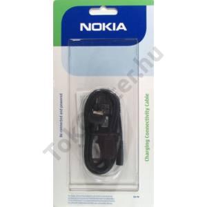 Adatátvitel adatkábel és töltő (USB, 130 cm hosszú, CA-44 adapter) FEKETE
