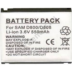 Samsung SGH-D800 Akku 550 mAh LI-ION (BST5268BEC kompatibilis)