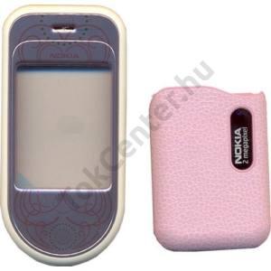 Nokia 7373 Készülék előlap és akkufedél RÓZSASZÍN