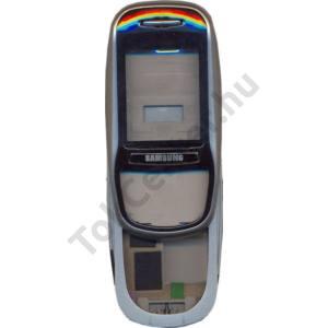 Samsung SGH-E350 Komplett készülék ház EZÜST/FEKETE