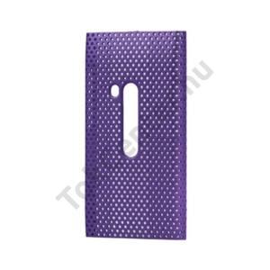 Nokia N9-00 Műanyag telefonvédő lyukacsos LILA