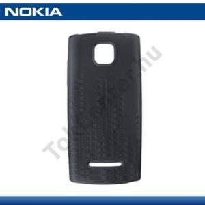 Nokia 5250 Telefonvédő gumi / szilikon FEKETE