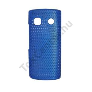 Nokia 500  Műanyag telefonvédő lyukacsos KÉK