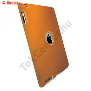Apple IPAD (3rd Generation) KRUSELL ColorCover műanyag telefonvédő NARANCS