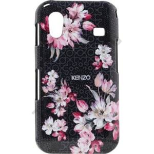 Samsung Galaxy Ace (GT-S5830) KENZO műanyag telefonvédő FEKETE VIRÁG
