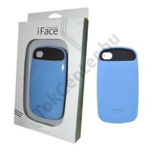 Apple iPhone 4 iFace műanyag telefonvédő VILÁGOSKÉK