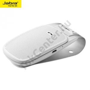 JABRA Drive bluetooth kihangosító szett (hordozható, multipoint) FEHÉR