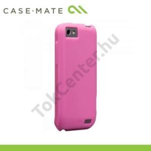 HTC One V (T320e) CASE-MATE telefonvédő gumi / szilikon  SMOOTH - RÓZSASZÍN