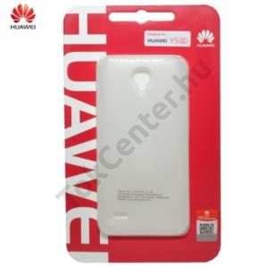 Huawei Y5 (Y560) Műanyag telefonvédő (ultravékony, 0.8 mm) FEHÉR
