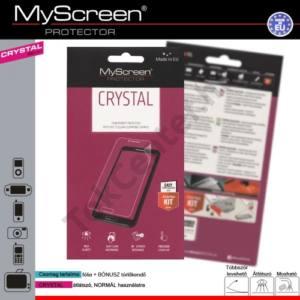 Samsung Galaxy Core 2 (SM-G355) Képernyővédő fólia törlőkendővel (1 db-os) CRYSTAL áttetsző