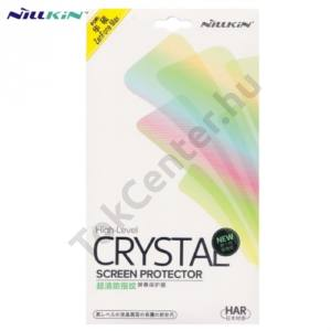 Asus Zenfone Max (ZC550KL) NILLKIN képernyővédő fólia törlőkendővel (1 db-os, ujjlenyomat mentes) CLEAR áttetsző