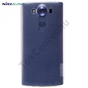 LG V10 (H960A) NILLKIN NATURE telefonvédő gumi / szilikon (0.6 mm, ultravékony) ÁTLÁTSZÓ