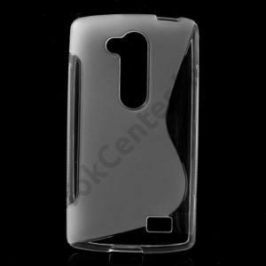 LG L70+ L Fino (D290n) Telefonvédő gumi / szilikon (S-line) ÁTLÁTSZÓ