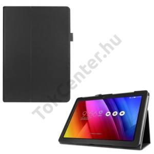 Univerzális Tok álló, bőr (FLIP, oldalra nyíló, asztali tartó funkció) FEKETE Asus ZenPad 10  Z300C/Z300CL/Z300CG