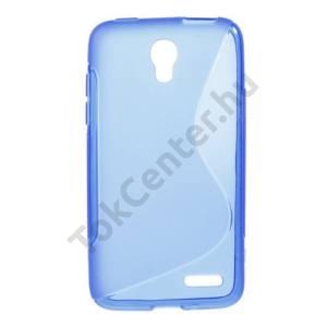 Alcatel Pop S3 (OT-5050Y) Telefonvédő gumi / szilikon (S-line) KÉK
