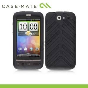 HTC Desire (Bravo CASE-MATE telefonvédő gumi / szilikon TORQUE (képernyővédő fólia, tisztitókendő) FEKETE