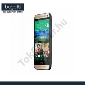HTC One Mini 2 BUGATTI ClipOnCover műanyag telefonvédő FEKETE