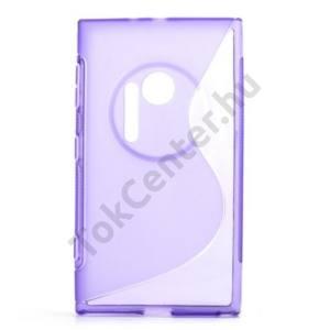 Nokia Lumia 1020 Telefonvédő gumi / szilikon (S-line) LILA
