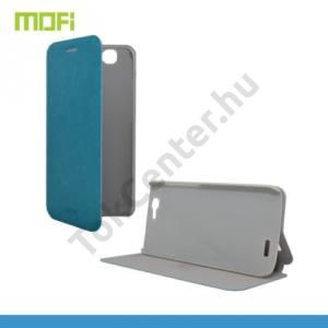Huawei Ascend G7 MOFI RUI tok álló, bőr (FLIP, oldalra nyíló, asztali tartó funkció, szilikon tartó) VILÁGOSKÉK