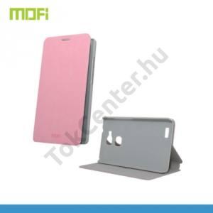 Huawei Ascend Mate 7 MOFI RUI tok álló, bőr (FLIP, oldalra nyíló, asztali tartó funkció) RÓZSASZÍN