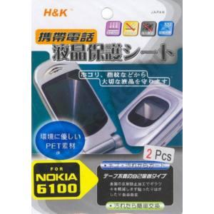 Nokia 6100 Képernyővédő fólia (2 db-os) 30 x 30 mm