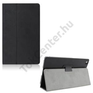 Lenovo Tab 2 (A8-50) Tok álló, bőr (FLIP, oldalra nyíló, asztali tartó funkció) FEKETE