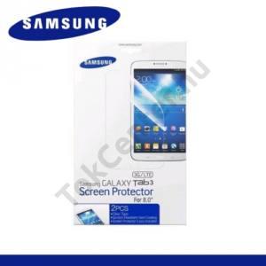 Samsung Galaxy Tab3 8.0 (SM-T310) Képernyővédő fólia törlőkendővel (2 db-os) CLEAR