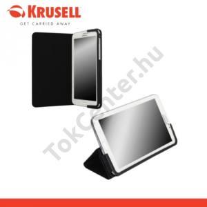 Samsung Galaxy Tab4 7.0 3G (SM-T231) KRUSELL MALMÖ bőr tok (FLIP, asztali tartó funkció) FEKETE