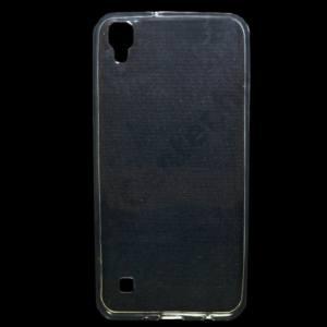 LG X STYLE Telefonvédő gumi / szilikon (ultravékony) ÁTLÁTSZÓ