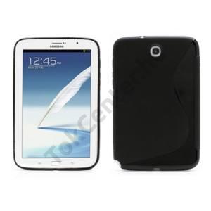 Samsung Galaxy Note 8.0 (GT-N5100) Telefonvédő gumi / szilikon (S-line) FEKETE