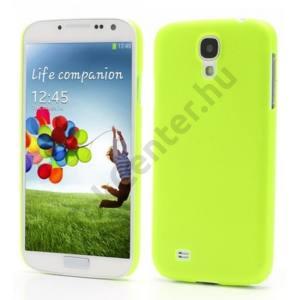 Samsung Galaxy S IV. (GT-I9500) Műanyag telefonvédő (ultravékony) ZÖLD