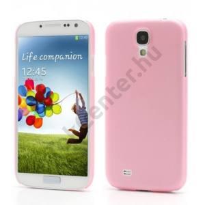 Samsung Galaxy S IV. (GT-I9500) Műanyag telefonvédő (ultravékony) RÓZSASZÍN