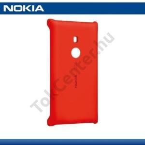 Nokia Lumia 925 Műanyag telefonvédő (vezeték nélküli töltés, QI Wireless) PIROS