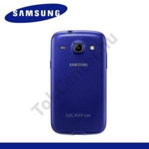 Samsung Galaxy Core (GT-I8260) Műanyag telefonvédő (gumi / szilikon betét) KÉK