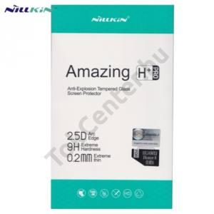 Huawei Honor 8 NILLKIN képernyővédő fólia törlőkendővel (1 db-os, 2.5D, 0.2mm, íves sarok, edzett üveg, karcálló, 9H) TEMPERED GLASS