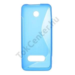 Nokia 301 Telefonvédő gumi / szilikon (S-line) KÉK