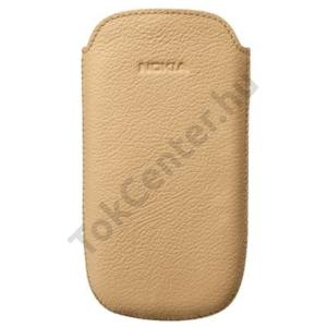 Nokia 701 Tok álló, bőr, BARNA (Oro)