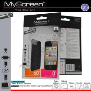 HTC Sensation (Z710e) Képernyővédő fólia törlőkendővel (1 db-os, 60° betekintés elleni védelem) PRIVACY