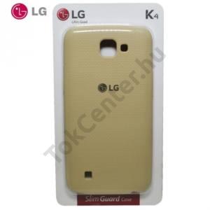 LG K4 (K120e) Műanyag telefonvédő FEHÉR