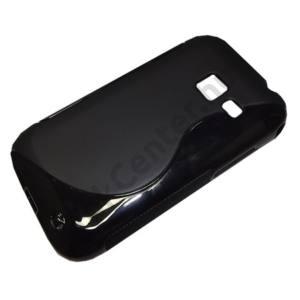 Samsung Galaxy Ace Duos (GT-S6802) Telefonvédő gumi / szilikon (S-line) FEKETE