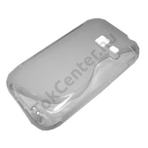 Samsung Galaxy Ace Duos (GT-S6802) Telefonvédő gumi / szilikon (S-line) ÁTLÁTSZÓ