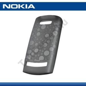 Nokia 303 Asha Telefonvédő gumi / szilikon FEKETE
