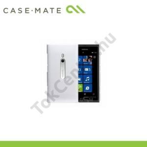 Nokia Lumia 800 CASE-MATE műanyag telefonvédő BARELY THERE - FEHÉR
