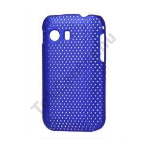 Samsung Galaxy Y (GT-S5360) Műanyag telefonvédő lyukacsos KÉK