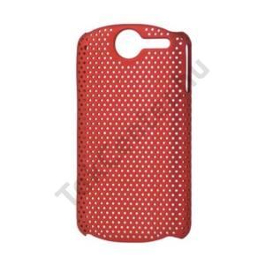 Huawei Ideos X5 Pro (U8800) Műanyag telefonvédő lyukacsos PIROS