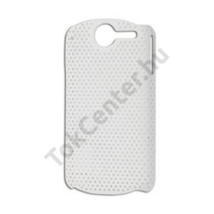 Huawei Ideos X5 Pro (U8800) Műanyag telefonvédő lyukacsos FEHÉR